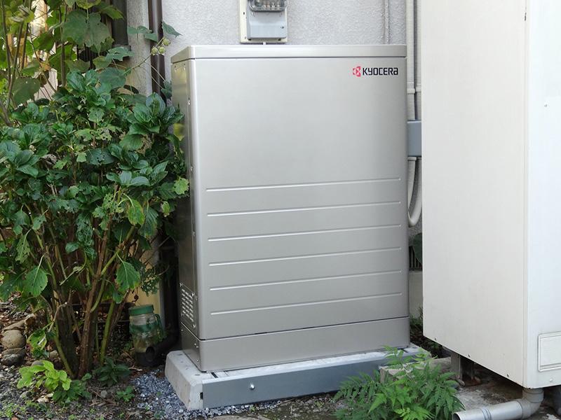 東京都青梅市 T様邸 京セラ蓄電システムEGS-LM72A